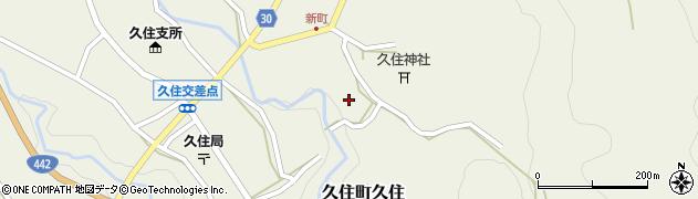 大分県竹田市久住町大字久住6493周辺の地図