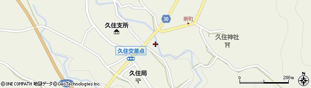 大分県竹田市久住町大字久住6246周辺の地図