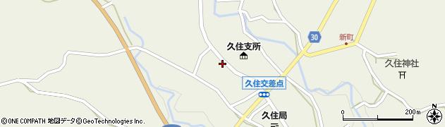 大分県竹田市久住町大字久住5973周辺の地図