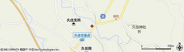 大分県竹田市久住町大字久住6251周辺の地図