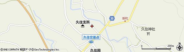 大分県竹田市久住町大字久住2788周辺の地図