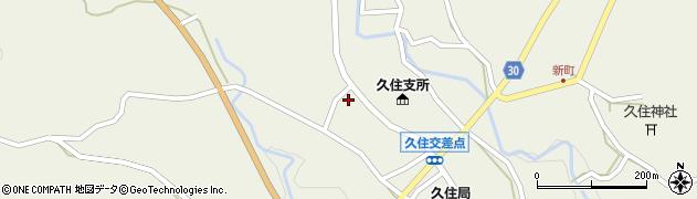 大分県竹田市久住町大字久住5950周辺の地図