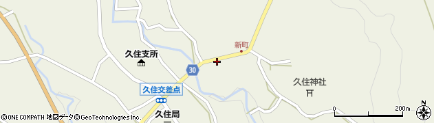大分県竹田市久住町大字久住6275周辺の地図