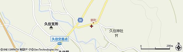 大分県竹田市久住町大字久住6271-2周辺の地図