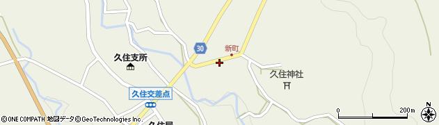 大分県竹田市久住町大字久住6271周辺の地図