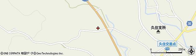 大分県竹田市久住町大字久住5900周辺の地図