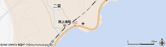 大分県佐伯市二栄580周辺の地図