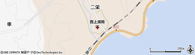 大分県佐伯市二栄1167周辺の地図