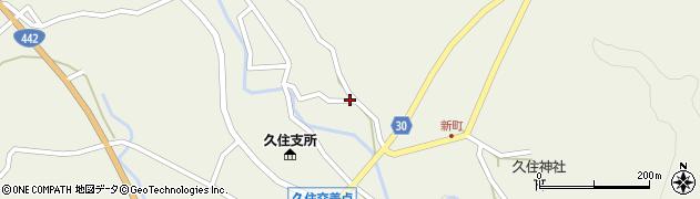 大分県竹田市久住町大字久住2794周辺の地図