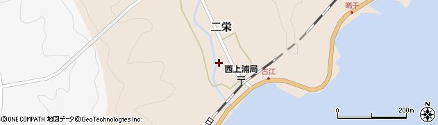 大分県佐伯市二栄1156周辺の地図