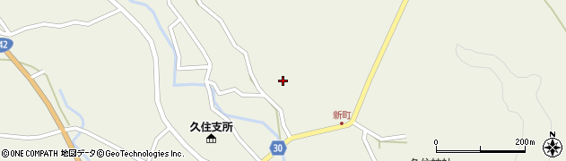 大分県竹田市久住町大字久住6307周辺の地図