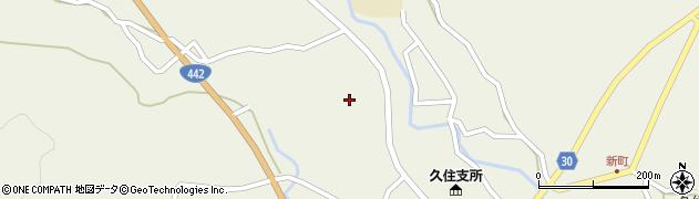 大分県竹田市久住町大字久住3456周辺の地図