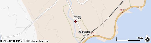 大分県佐伯市二栄1106周辺の地図