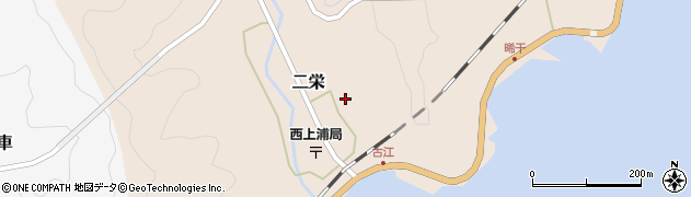 大分県佐伯市二栄642周辺の地図