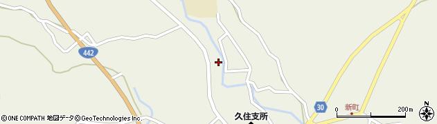 大分県竹田市久住町大字久住3449周辺の地図