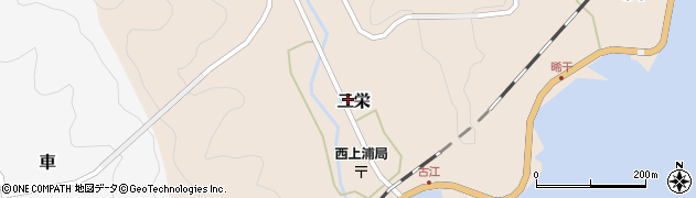 大分県佐伯市二栄1100周辺の地図
