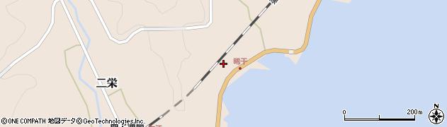 大分県佐伯市二栄523周辺の地図
