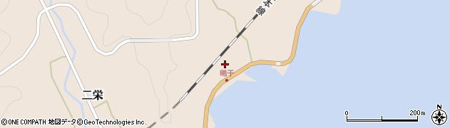 大分県佐伯市二栄460周辺の地図