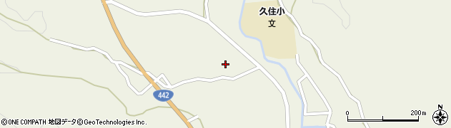 大分県竹田市久住町大字久住3499周辺の地図