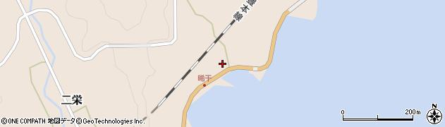 大分県佐伯市二栄391周辺の地図