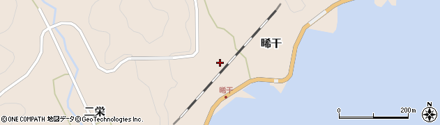 大分県佐伯市二栄448周辺の地図