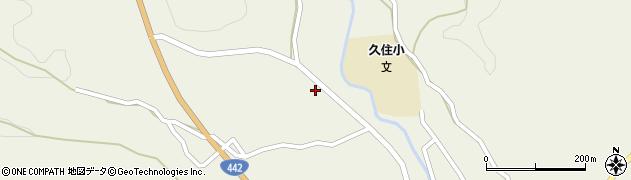 大分県竹田市久住町大字久住3478周辺の地図