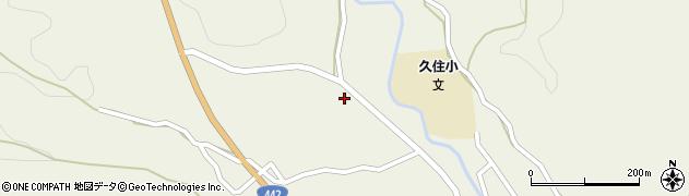 大分県竹田市久住町大字久住3484周辺の地図
