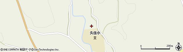 大分県竹田市久住町大字久住2867周辺の地図