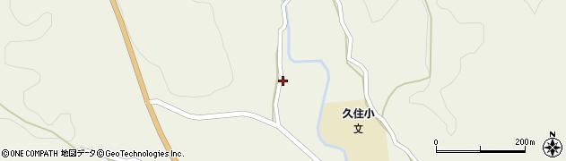 大分県竹田市久住町大字久住3437周辺の地図
