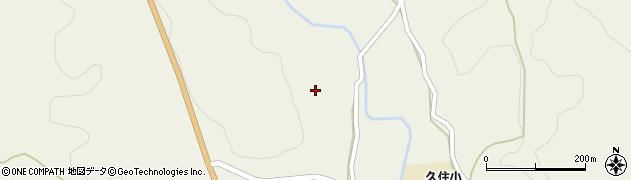 大分県竹田市久住町大字久住3404周辺の地図