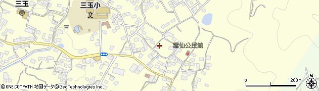 熊本県山鹿市久原周辺の地図