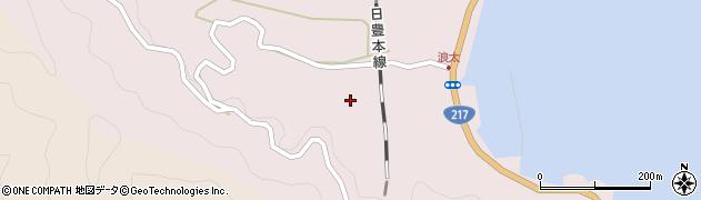 大分県佐伯市上浦大字浅海井浦3585周辺の地図