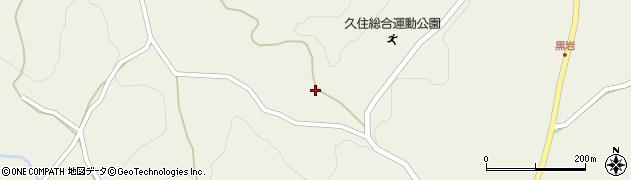 大分県竹田市久住町大字久住2708周辺の地図