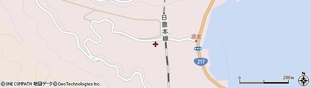 大分県佐伯市上浦大字浅海井浦3485周辺の地図