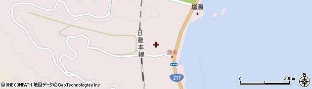 大分県佐伯市上浦大字浅海井浦3549周辺の地図