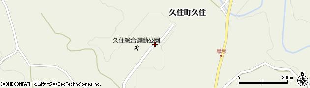 大分県竹田市久住町大字久住2704周辺の地図