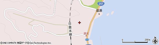 大分県佐伯市上浦大字浅海井浦2930周辺の地図