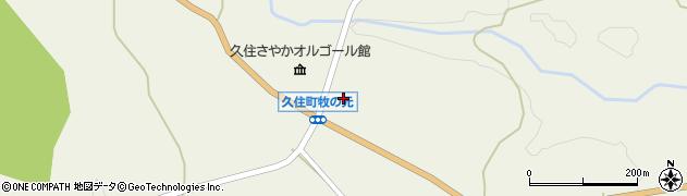 大分県竹田市久住町大字久住3982周辺の地図