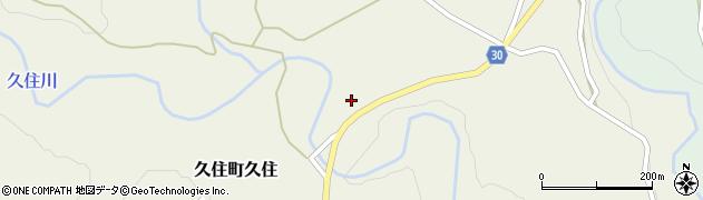 大分県竹田市久住町大字久住214周辺の地図