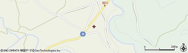 大分県竹田市久住町大字久住境川周辺の地図