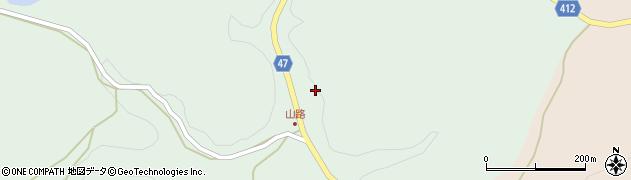 大分県竹田市久住町大字栢木3971周辺の地図
