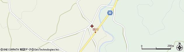 大分県竹田市久住町大字久住7周辺の地図