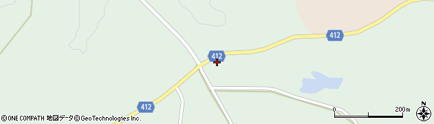 大分県竹田市久住町大字栢木4118周辺の地図