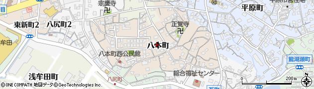 なごみ事務所周辺の地図