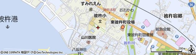 彼杵神社周辺の地図