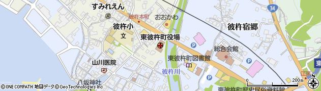 長崎県東彼杵郡東彼杵町周辺の地図