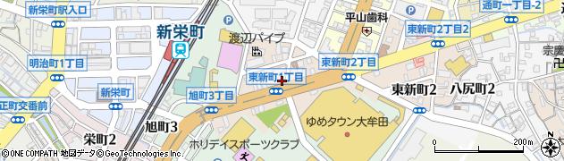 岡本整骨院周辺の地図
