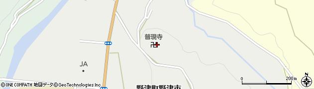 普現寺周辺の地図