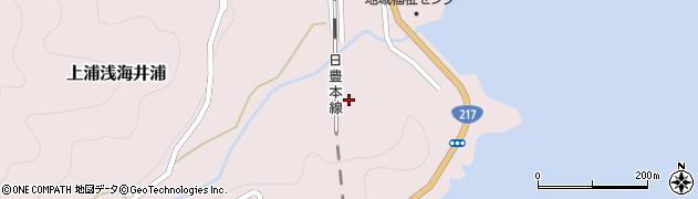 大分県佐伯市上浦大字浅海井浦2205周辺の地図