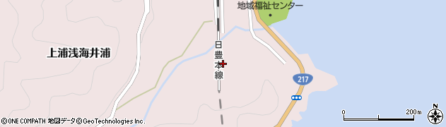 大分県佐伯市上浦大字浅海井浦2175周辺の地図